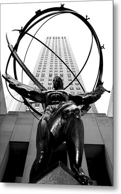 Atlas Metal Print by Mitch Cat