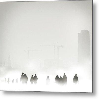 Atmosphere Metal Print by Piet Flour