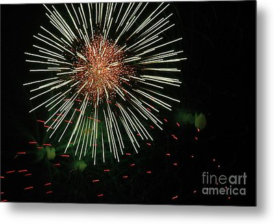 Atom Burst Metal Print by Norman  Andrus