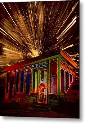 Atomic Man Metal Print by Garry Gay