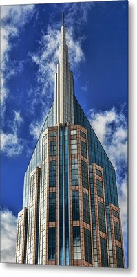 Metal Print featuring the photograph Att Nashville by Stephen Stookey