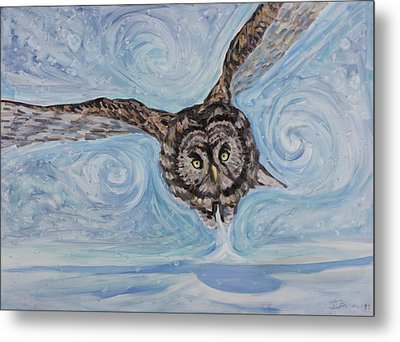 Attack Form The Sky Metal Print by Marco Busoni