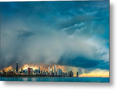 Attention Seeking Clouds Metal Print by Cory Dewald