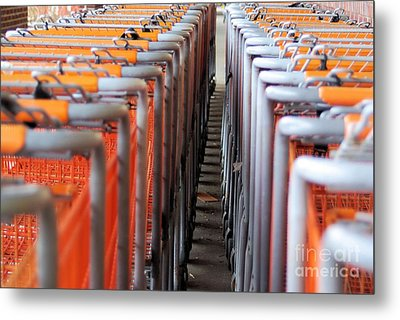 Attention Shoppers...lol Metal Print by John S