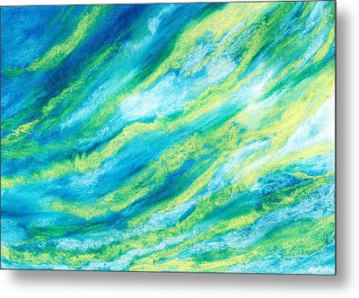 Attitude - Sky And Clouds Collection Metal Print