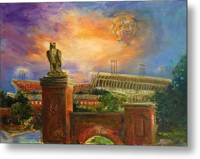 Auburn Skies Metal Print by Ann Marshall Bailey