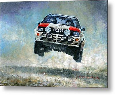 Audi Quattro Gr.4 1982 Metal Print by Yuriy Shevchuk