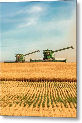 Augers Out Metal Print