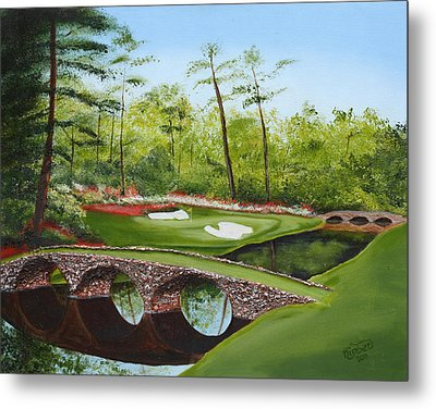 Augusta Golf Course Metal Print
