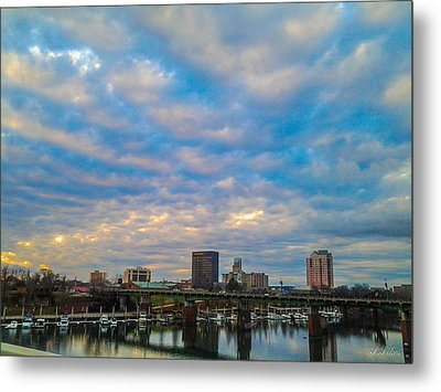 Augusta Metal Print by Stacy Sikes