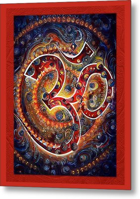 Aum - Vibrations Of Supreme Metal Print