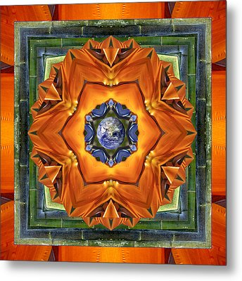 Aura Bamboo Metal Print by Bell And Todd
