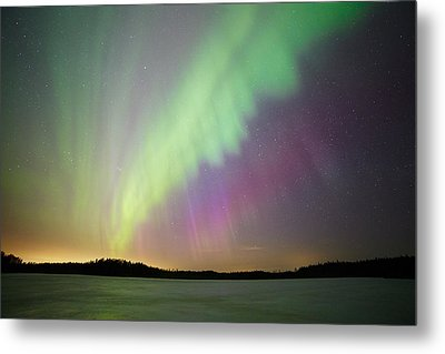 Aurora Borealis - Northern Lights Metal Print