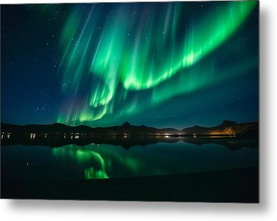 Aurora Surprise Metal Print by Tor-Ivar Naess