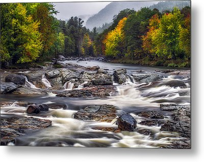 Metal Print featuring the photograph Ausable Cascades by Mark Papke