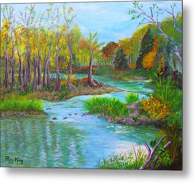 Ausable River Metal Print