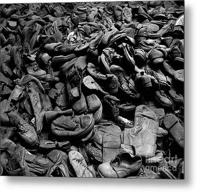 Auschwitz-birkenau Shoes Metal Print by RicardMN Photography
