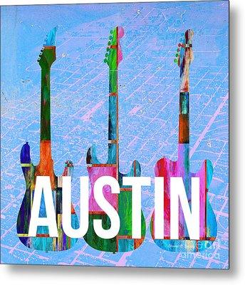 Austin Music Scene Metal Print