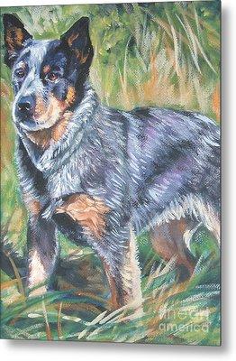 Australian Cattle Dog 1 Metal Print by Lee Ann Shepard