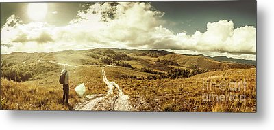 Australian Rural Panoramic Landscape Metal Print by Jorgo Photography - Wall Art Gallery