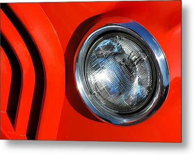 Auto Abstract Metal Print by Dan Holm