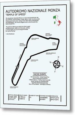 Autodromo Nazionale Monza Metal Print by Mark Rogan