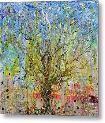 Autotroph Tree Of Life 1 Metal Print by Regina Valluzzi
