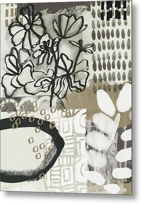 Autumn Abstract 2- Art By Linda Woods Metal Print by Linda Woods
