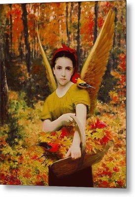 Autumn Angels Metal Print by Stephen Lucas