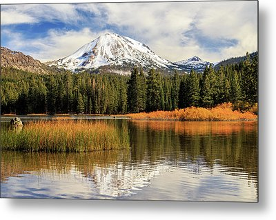 Autumn At Mount Lassen Metal Print by James Eddy
