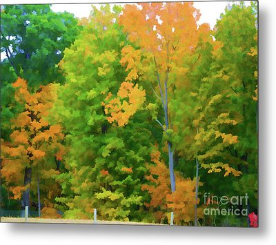 Autumn At Olana 2 Metal Print by Lanjee Chee