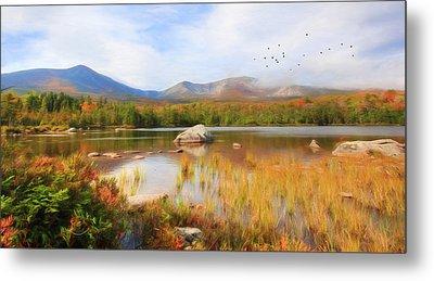 Autumn At Sandy Stream Pond Metal Print by Lori Deiter