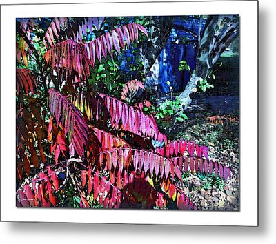 Metal Print featuring the photograph Autumn At The Taverne by Joan  Minchak