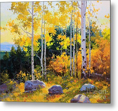Autumn Beauty Of Sangre De Cristo Mountain Metal Print by Gary Kim
