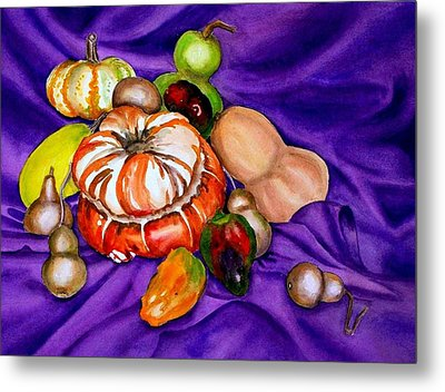 Autumn Bounty Metal Print