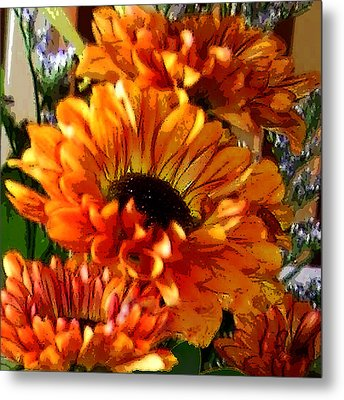 Autumn Bouquet Metal Print