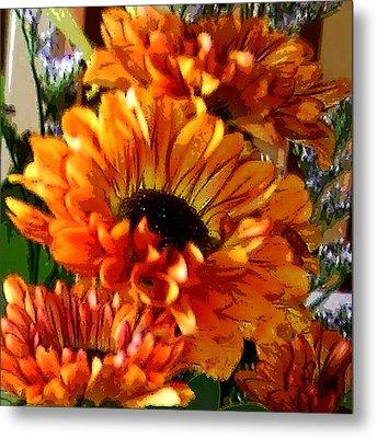 Autumn Bouquet Metal Print by Kathleen Stephens