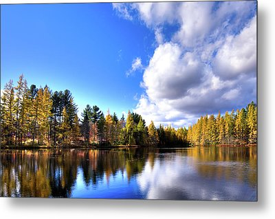 Metal Print featuring the photograph Autumn Calm At Woodcraft Camp by David Patterson