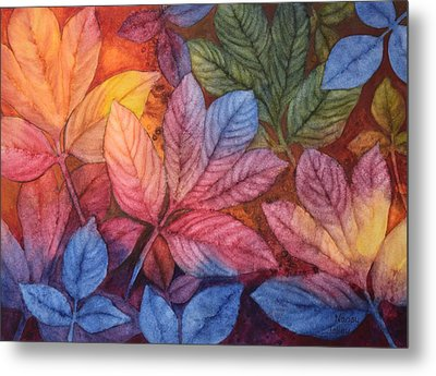 Autumn Color Metal Print by Nancy Jolley