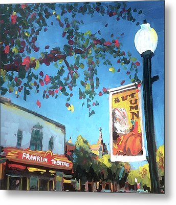 Autumn Comes To Franklin Metal Print