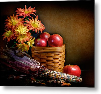 Autumn Metal Print by David and Carol Kelly