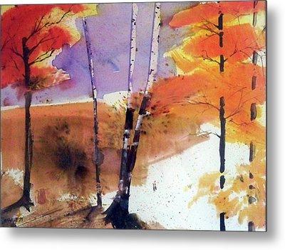 Autumn Metal Print by Ed Heaton