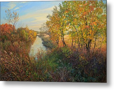 Autumn Evening Metal Print