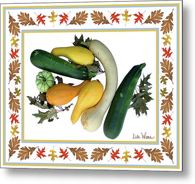 Autumn Harvest Metal Print by Lise Winne