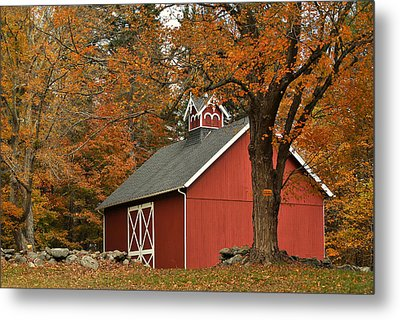 Autumn In Aspetuck Metal Print