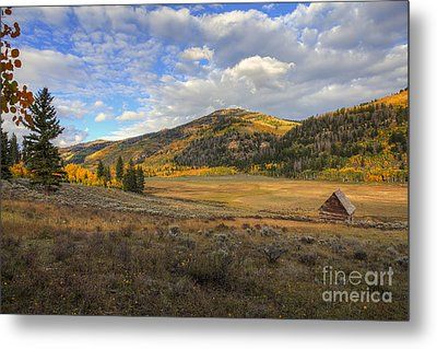 Metal Print featuring the photograph Autumn In Joe's Valley by Spencer Baugh