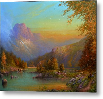 Autumn In Lake Killarney Metal Print by Joe Gilronan