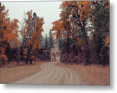 Autumn In Montana Metal Print