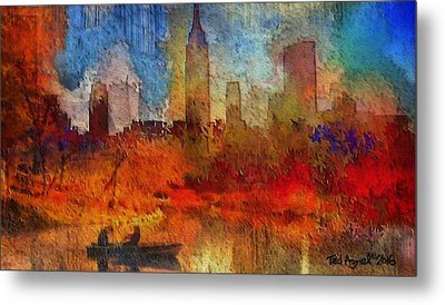 Autumn In New York Metal Print