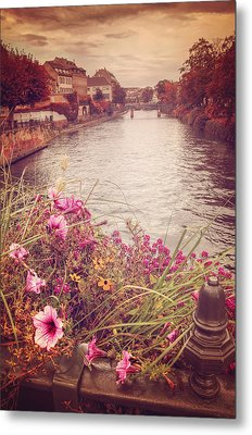 Autumn In Strasbourg  Metal Print by Carol Japp